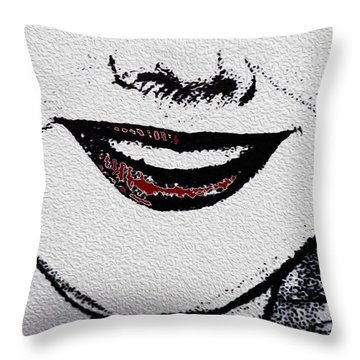 Liposuction Successful  Throw Pillow by Sir Josef - Social Critic - ART