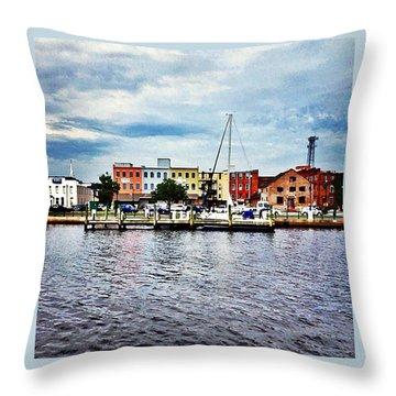 Little Washington Throw Pillow by Joan Meyland