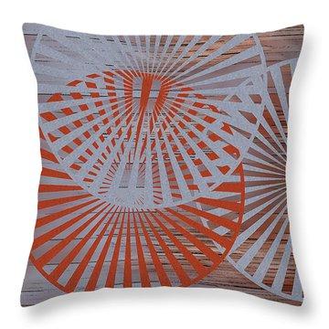 Living Spaces No 2 Throw Pillow by Ben and Raisa Gertsberg