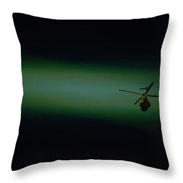 Loner Throw Pillow by Paul Job