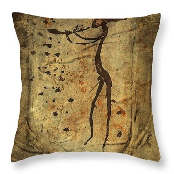 Long Before Pan Throw Pillow by Kandy Hurley