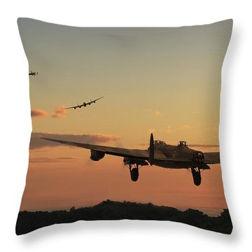Long Night Ahead Throw Pillow by Pat Speirs