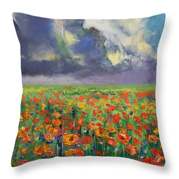 Longing Throw Pillow by Michael Creese