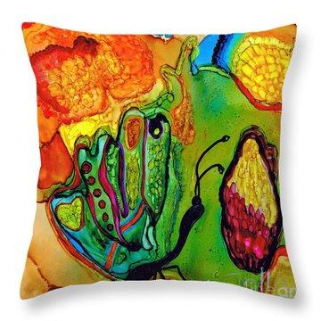 Lost Butterfly.. Throw Pillow by Jolanta Anna Karolska