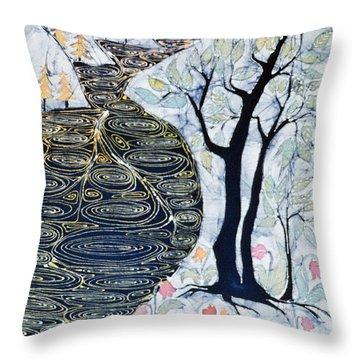 Lothlorien  Throw Pillow by Carol Law Conklin