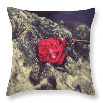 Love And Hard Times Throw Pillow by Laurie Search