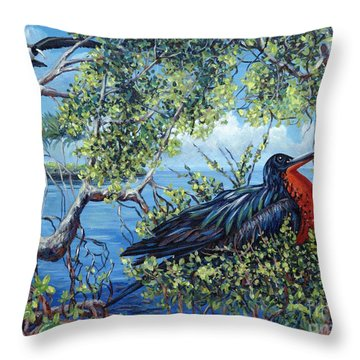 Love Found Throw Pillow by Danielle  Perry