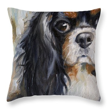 Love Throw Pillow by Mary Sparrow