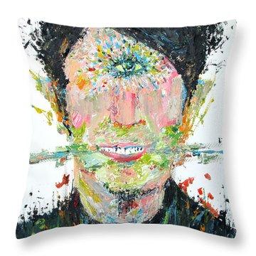 Love Me Do Throw Pillow by Fabrizio Cassetta