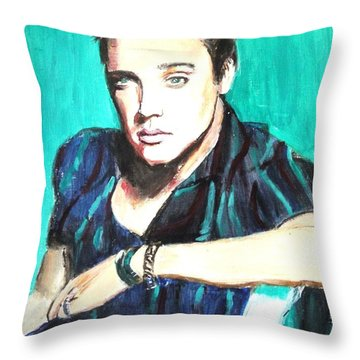 Love Me Tender   Throw Pillow by Judy Kay