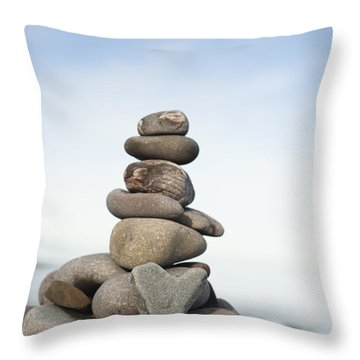 Love On The Rocks Throw Pillow by Anne Gilbert