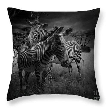 Love Season IIi - African Dream I Throw Pillow by Xueling Zou