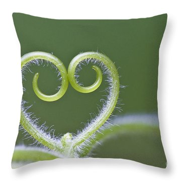 Loving Nature Throw Pillow by Maria Ismanah Schulze-Vorberg
