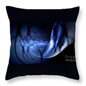 Low Bias Two Throw Pillow by Peter R Nicholls
