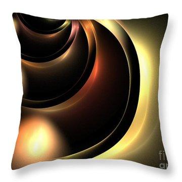 Lunar Throw Pillow by Kim Sy Ok