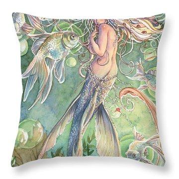 Lusinga Throw Pillow by Sara Burrier