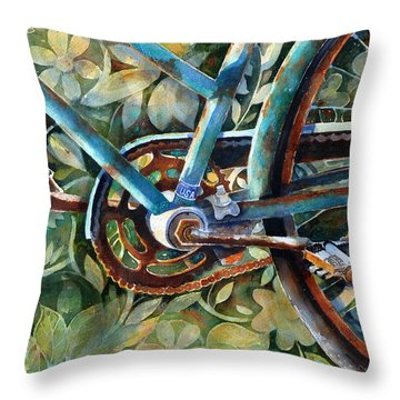 Made In The Usa Throw Pillow by Suzy Pal Powell