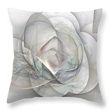 Magnolia Jazz Throw Pillow by Elizabeth McTaggart