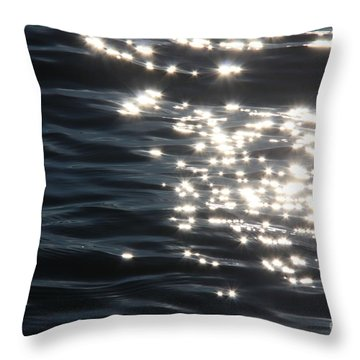 Make A Wish Throw Pillow by Jolanta Anna Karolska