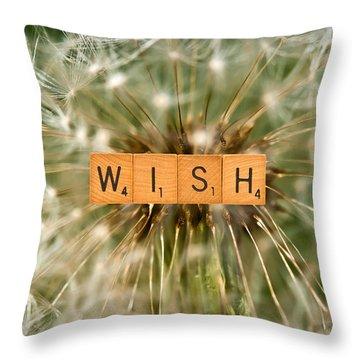 Make A Wish Throw Pillow by  Onyonet  Photo Studios