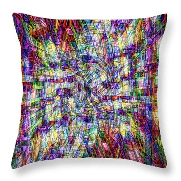 Making Sense Of Things Throw Pillow by Kellice Swaggerty