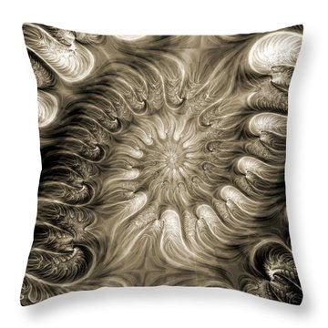 Malignant 2 Throw Pillow by Kevin Trow