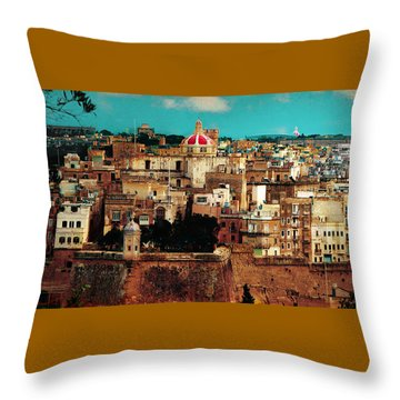 Malta Throw Pillow by Christo Christov