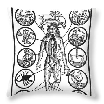 Man Of Sorrow, 1512 Throw Pillow by Granger