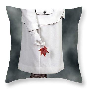 Maple Leaf Throw Pillow by Joana Kruse