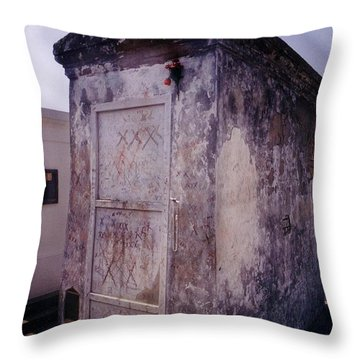 Marie Leveau Perhaps Throw Pillow by John Malone