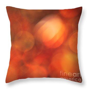 Marmalade Throw Pillow by Jan Bickerton
