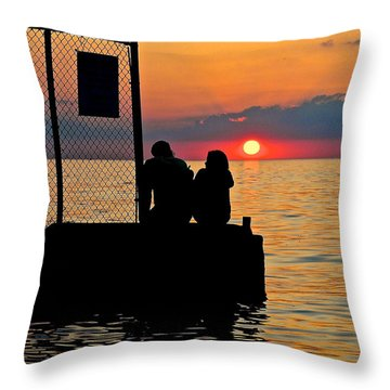 Marry Me Throw Pillow by Frozen in Time Fine Art Photography