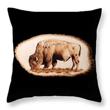 Massive Throw Pillow by Minisa Robinson