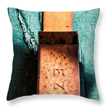 Match Box Throw Pillow by  Onyonet  Photo Studios