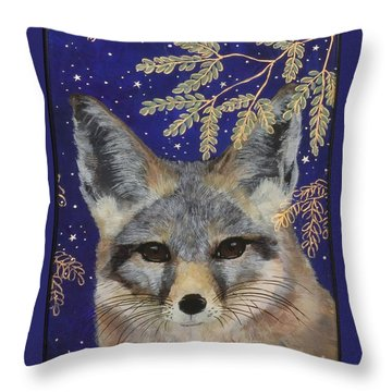 Medianoche Throw Pillow by Sue Betanzos