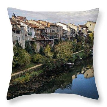 Medieval Musings Throw Pillow by Georgia Fowler