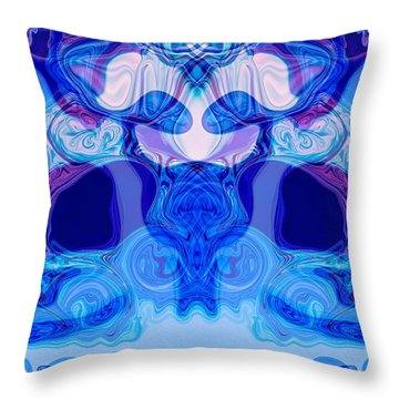 Meditation Throw Pillow by Omaste Witkowski