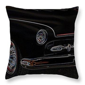 Mercury Glow Throw Pillow by Steve McKinzie