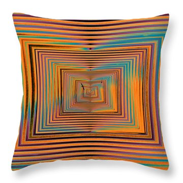 Mesmer Realized Throw Pillow by Tim Allen