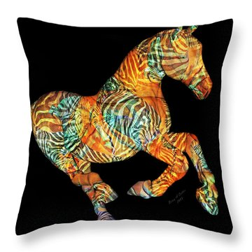 Messenger Throw Pillow by Betsy Knapp
