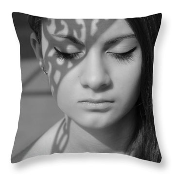 Metamorphosis Throw Pillow by Laura Fasulo