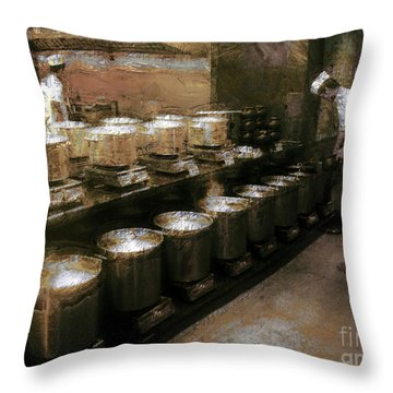 Mi Kitchen Throw Pillow by Jack Gannon