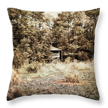 Middle Of Nowhere Throw Pillow by Ester  Rogers