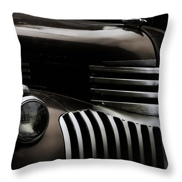 Midnight Grille Throw Pillow by Ken Smith