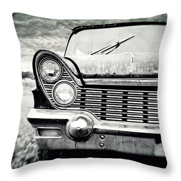 Midnight Ride 2 Throw Pillow by Scott Pellegrin