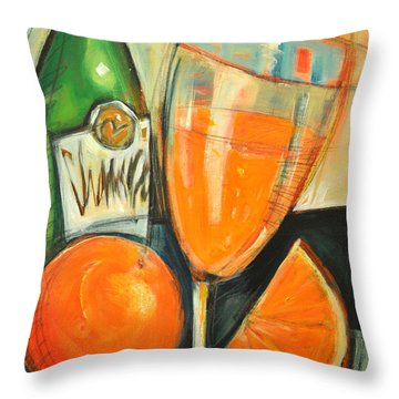 Mimosa Throw Pillow by Tim Nyberg
