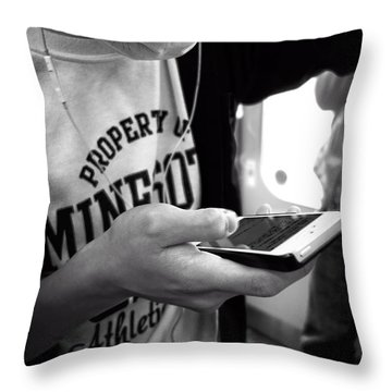 Minesota Kyoto Throw Pillow by Daniel Hagerman