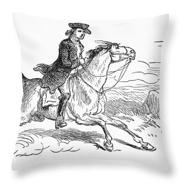 Minuteman, C1775 Throw Pillow by Granger