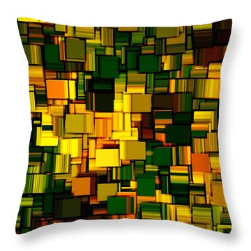 Modern Abstract Xxii Throw Pillow by Lourry Legarde