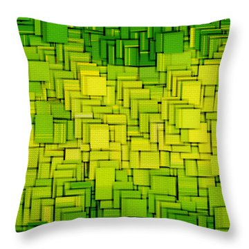 Modern Abstract Xxxiii Throw Pillow by Lourry Legarde